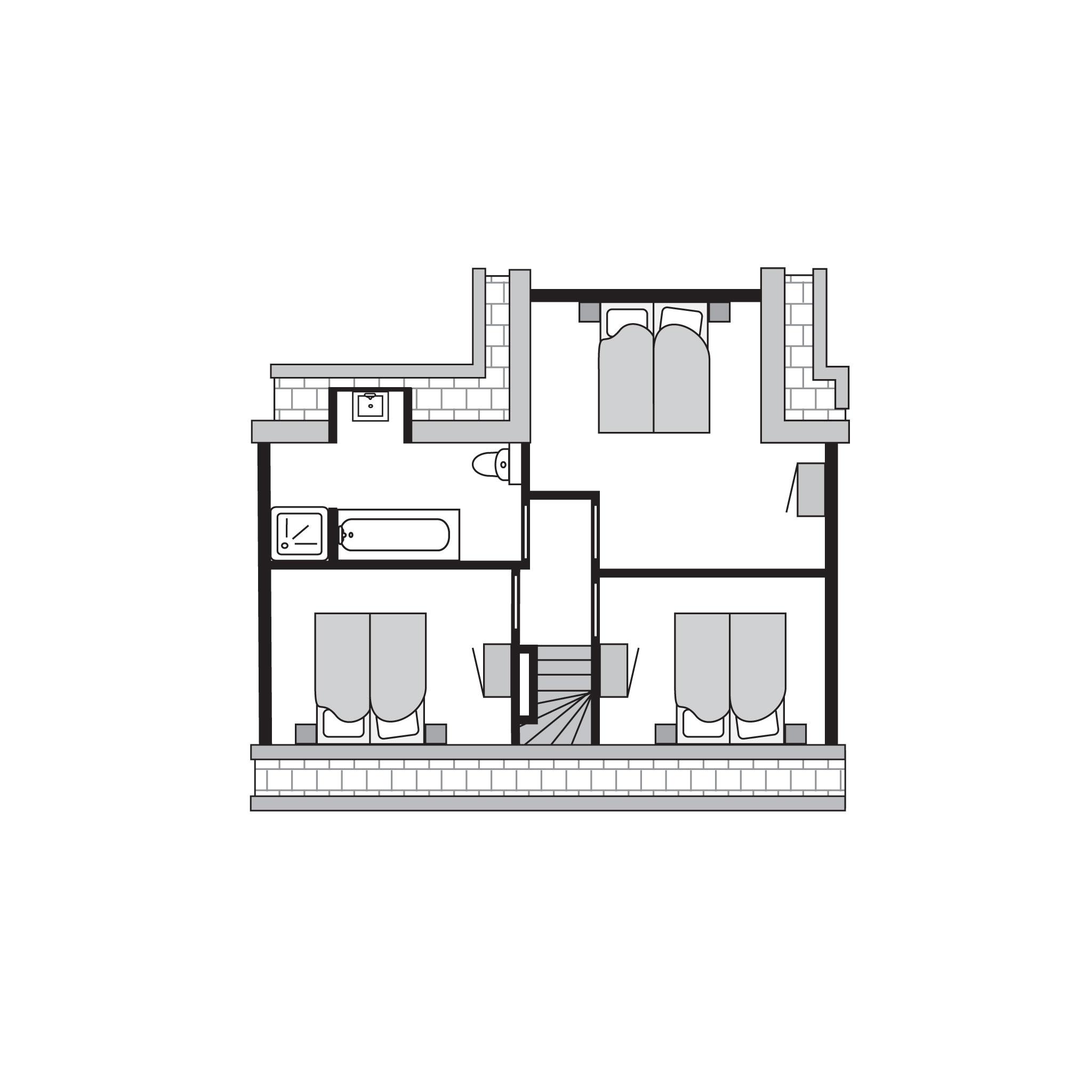 Ferienhaus Komfort 8-Personen-Unterkunft im Ferienpark Landal Strand Resort Nieuwvliet-Bad - an der K (589565), Nieuwvliet, , Seeland, Niederlande, Bild 28