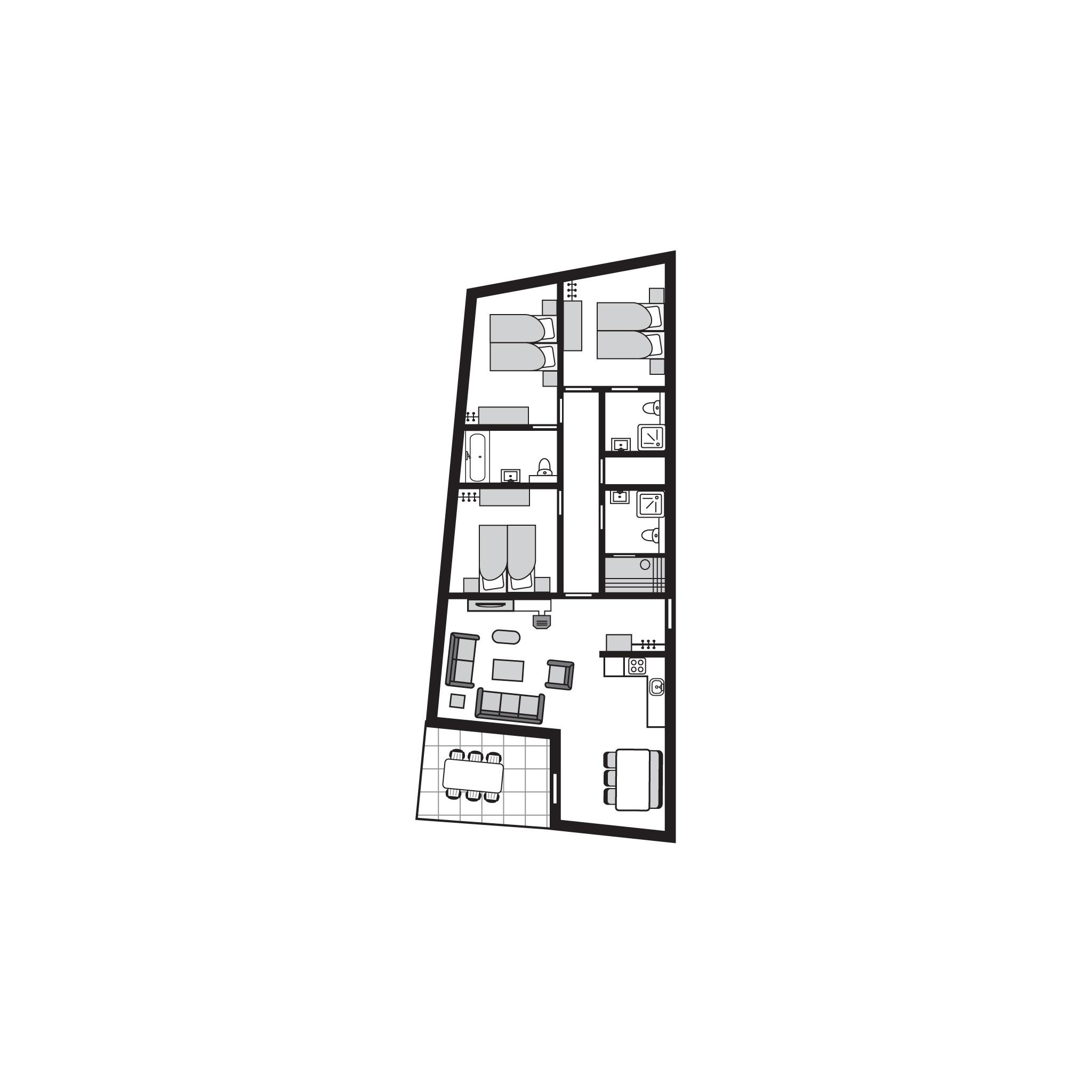 Appartement de vacances Luxus 6-Personen-Ferienwohnung im Ferienpark Landal Alpine Lodge Lenzerheide - in den Berg (828238), Lenzerheide/Lai, Lenzerheide - Valbella, Grisons, Suisse, image 24