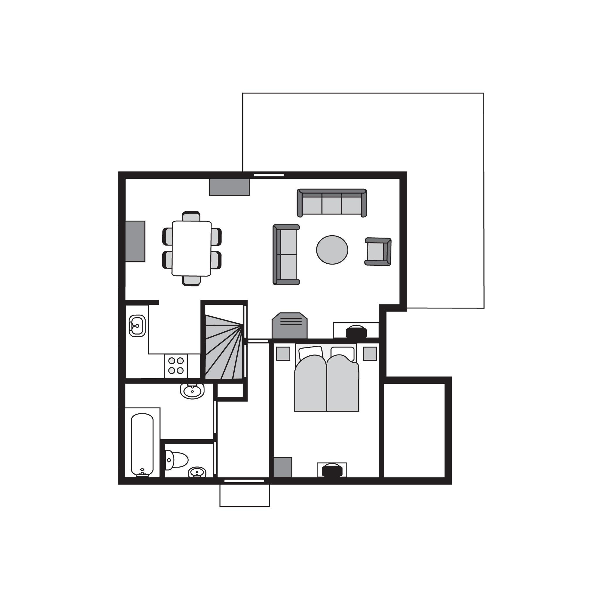 Ferienhaus Komfort 6-Personen-Ferienhaus im Ferienpark Landal Stroombroek - in einer Hügellandschaft (2669730), Braamt, Arnheim-Nimwegen, Gelderland, Niederlande, Bild 27