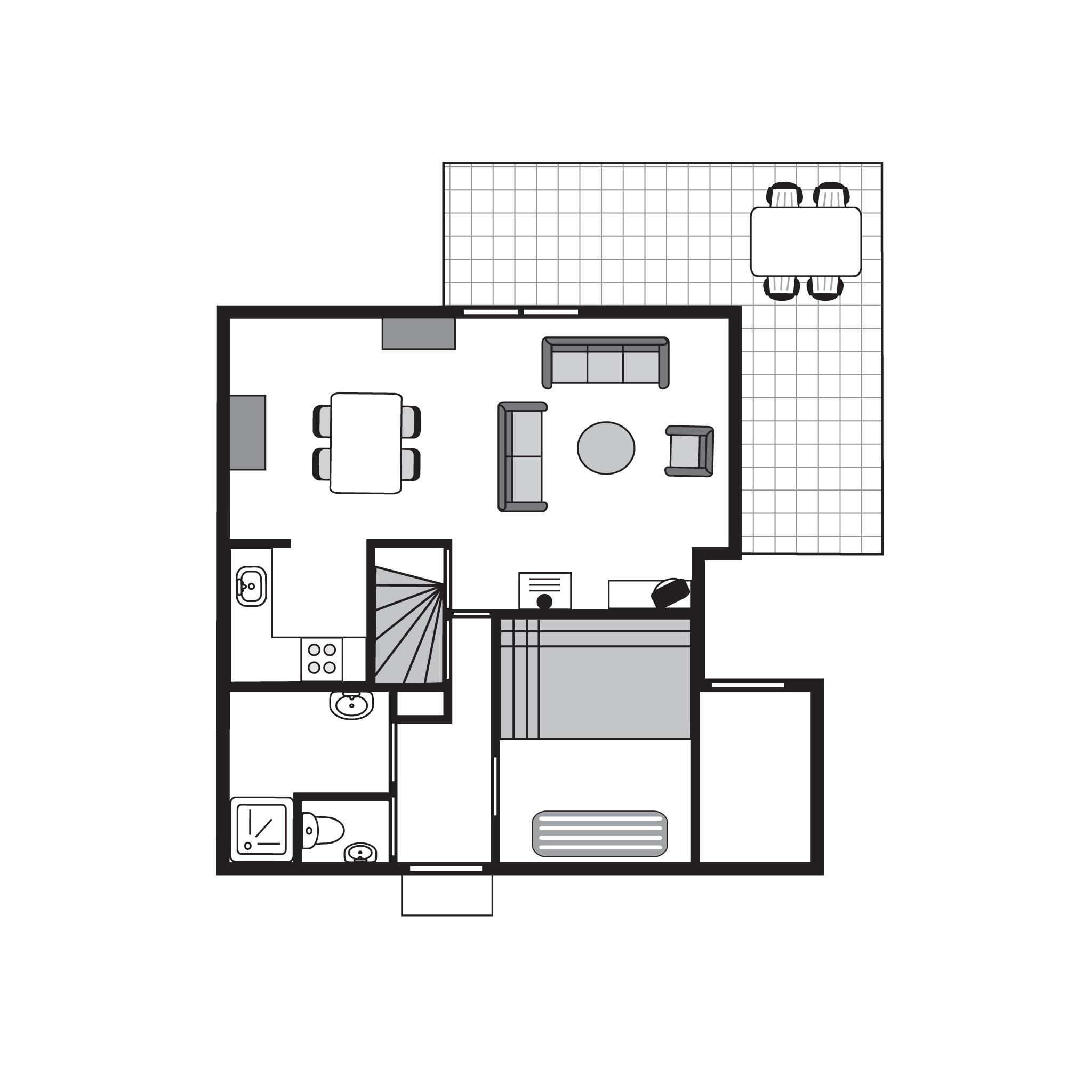 Ferienhaus Luxus 4-Personen-Ferienhaus im Ferienpark Landal Stroombroek - in einer Hügellandschaft (2669722), Braamt, Arnheim-Nimwegen, Gelderland, Niederlande, Bild 31
