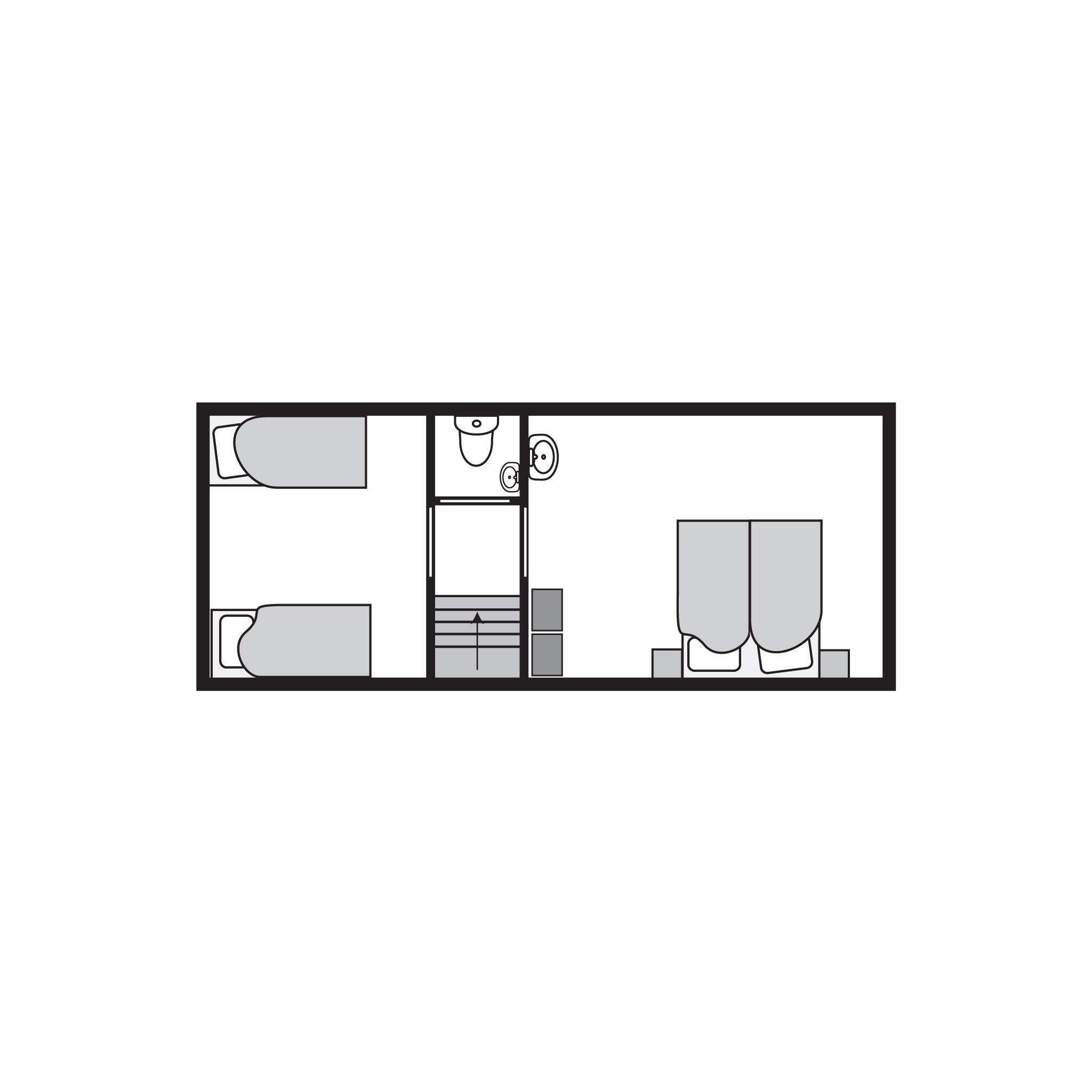 Ferienhaus Luxus 6-Personen-Ferienhaus im Ferienpark Landal Miggelenberg - in einer Hügellandschaft (2516741), Hoenderloo, Veluwe, Gelderland, Niederlande, Bild 19