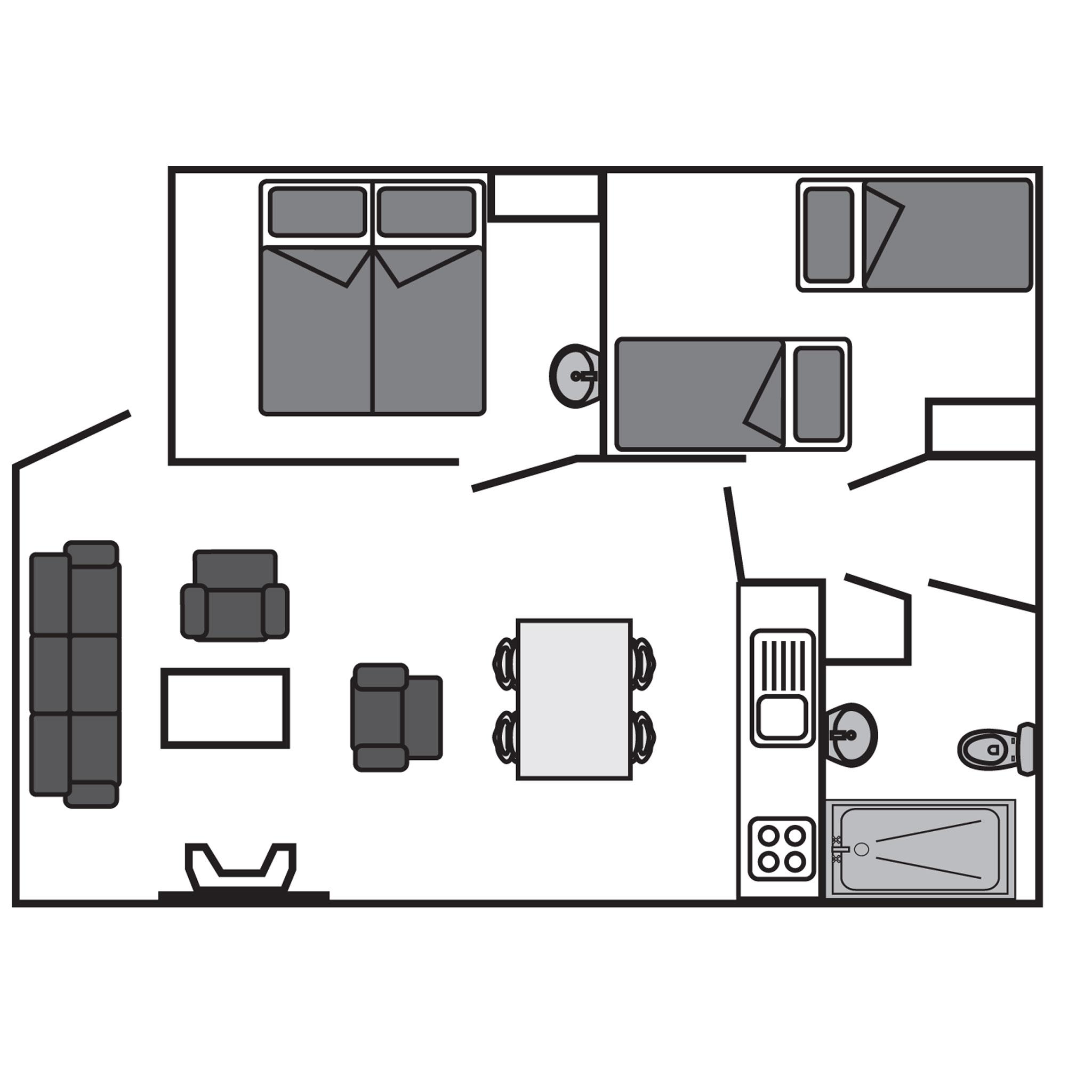 Ferienhaus 4-Personen-Ferienhaus im Ferienpark Landal Coldenhove - im Wald/waldreicher Umgebung geleg (354869), Eerbeek, Veluwe, Gelderland, Niederlande, Bild 22