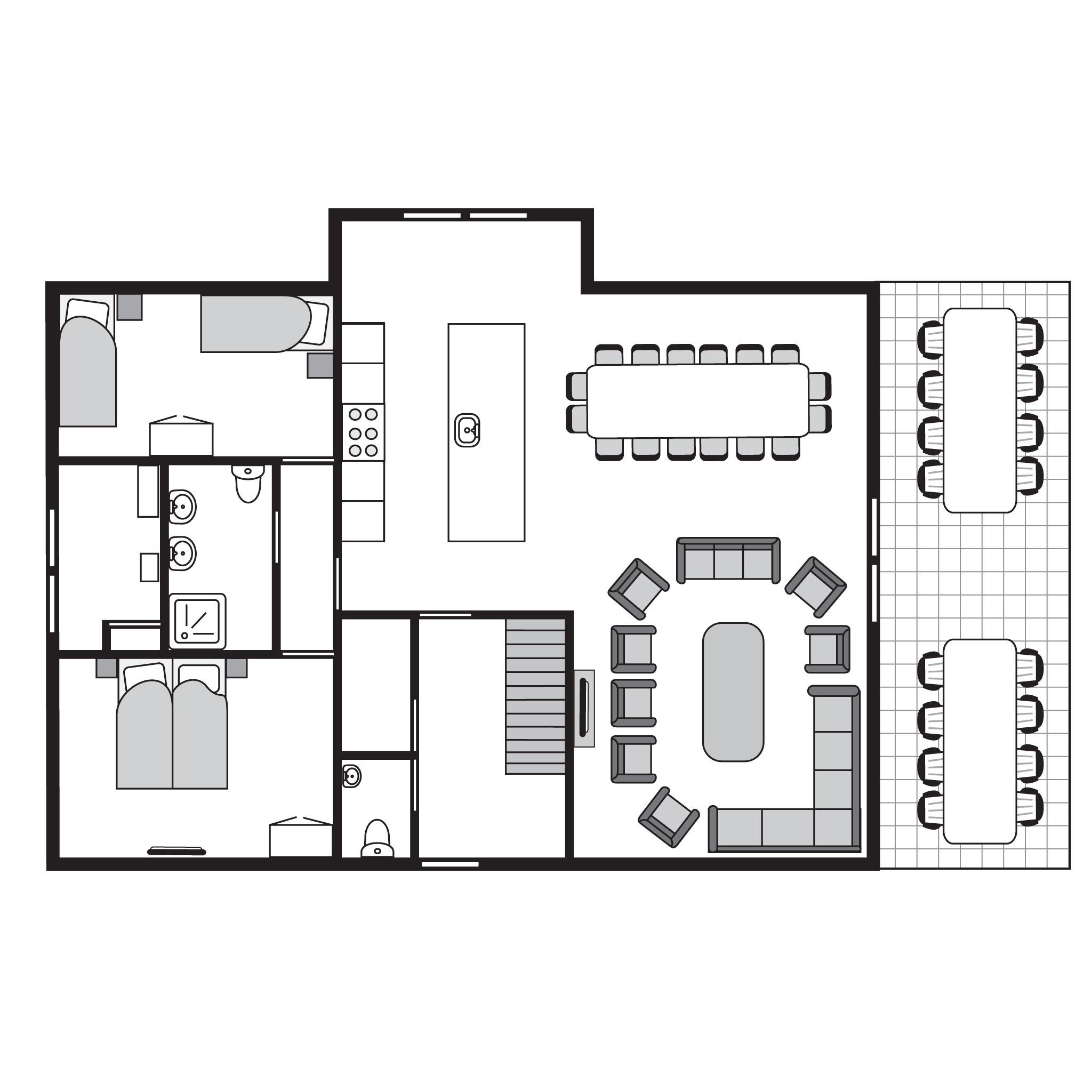 Ferienhaus Komfort 16-Personen-Villa im Ferienpark Landal Waterparc Veluwemeer - am Wasser/Freizeitse (408312), Biddinghuizen, , Flevoland, Niederlande, Bild 35