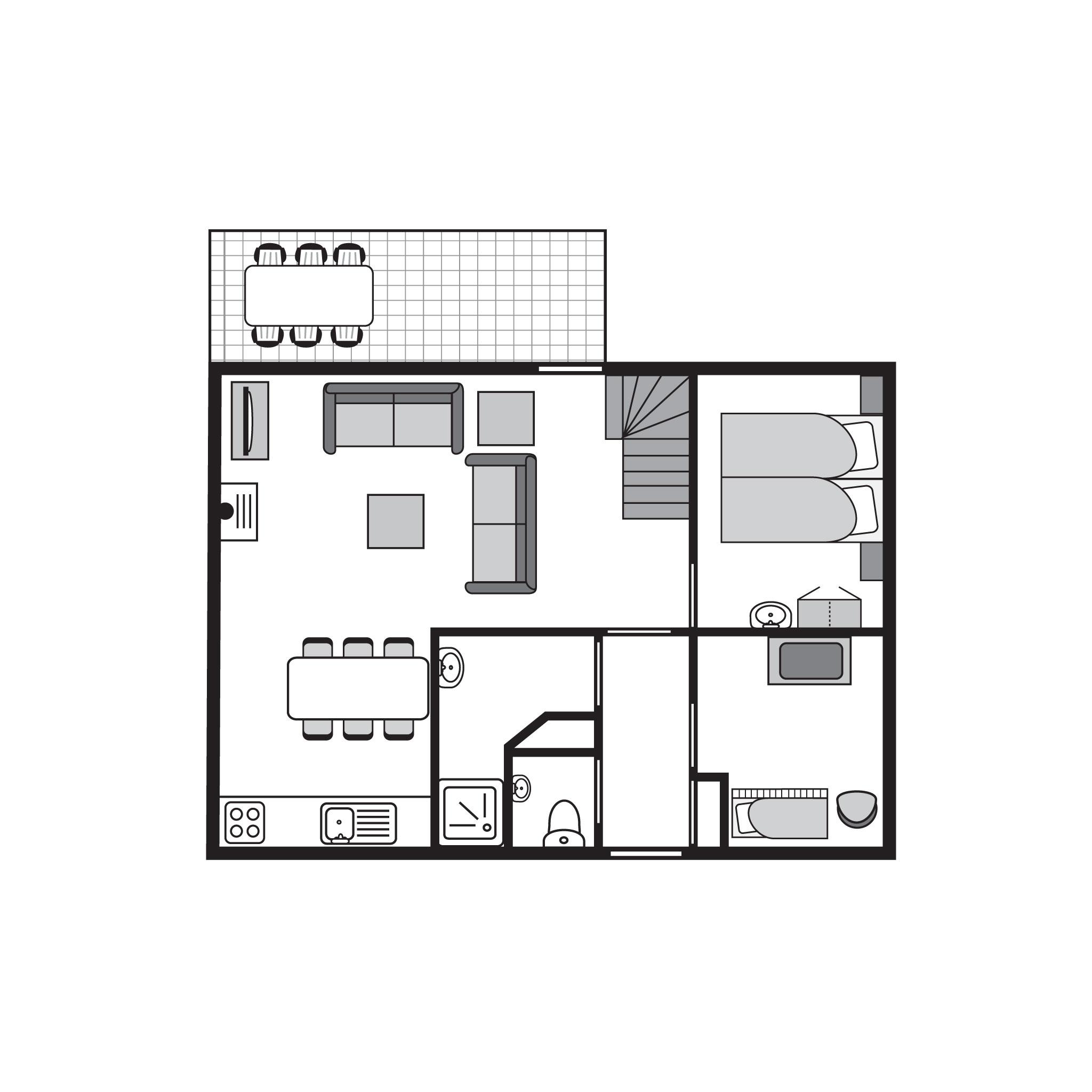 Ferienhaus Komfort 6-Personen-Kinder-Ferienhaus im Ferienpark Landal Miggelenberg - in einer Hügellan (1033411), Hoenderloo, Veluwe, Gelderland, Niederlande, Bild 20