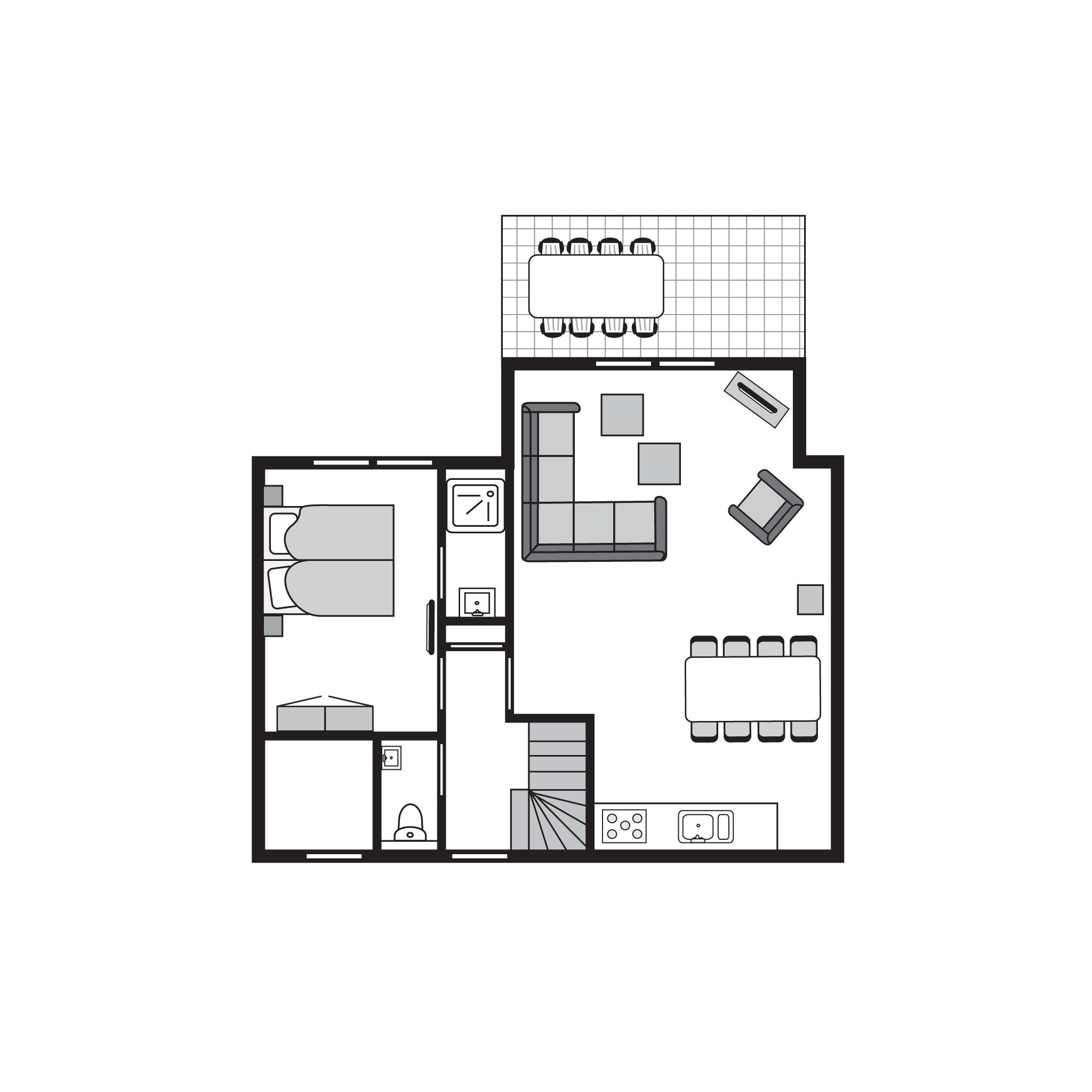 Ferienhaus Komfort 8-Personen-Unterkunft im Ferienpark Landal Strand Resort Nieuwvliet-Bad - an der K (589565), Nieuwvliet, , Seeland, Niederlande, Bild 27
