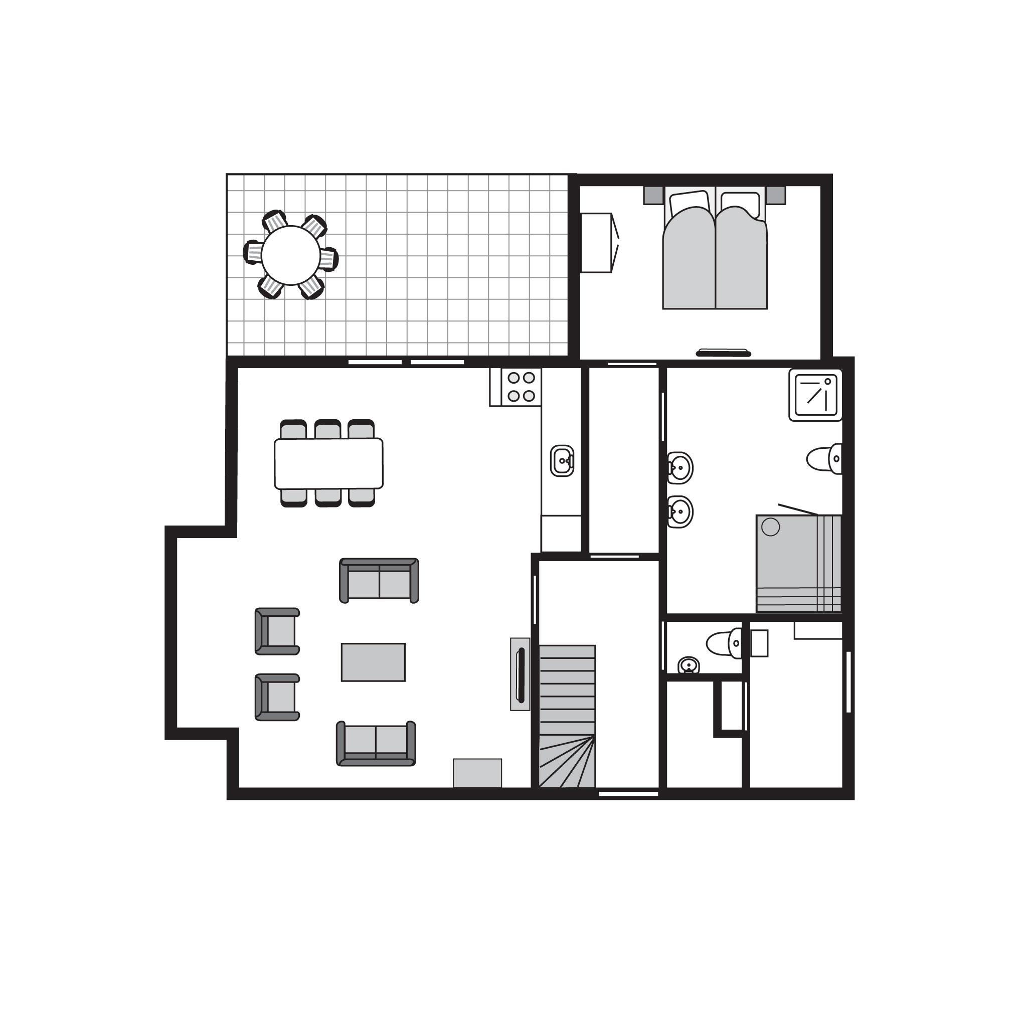 Ferienhaus Luxus 6-Personen-Villa im Ferienpark Landal Waterparc Veluwemeer - am Wasser/Freizeitsee (407514), Biddinghuizen, , Flevoland, Niederlande, Bild 37