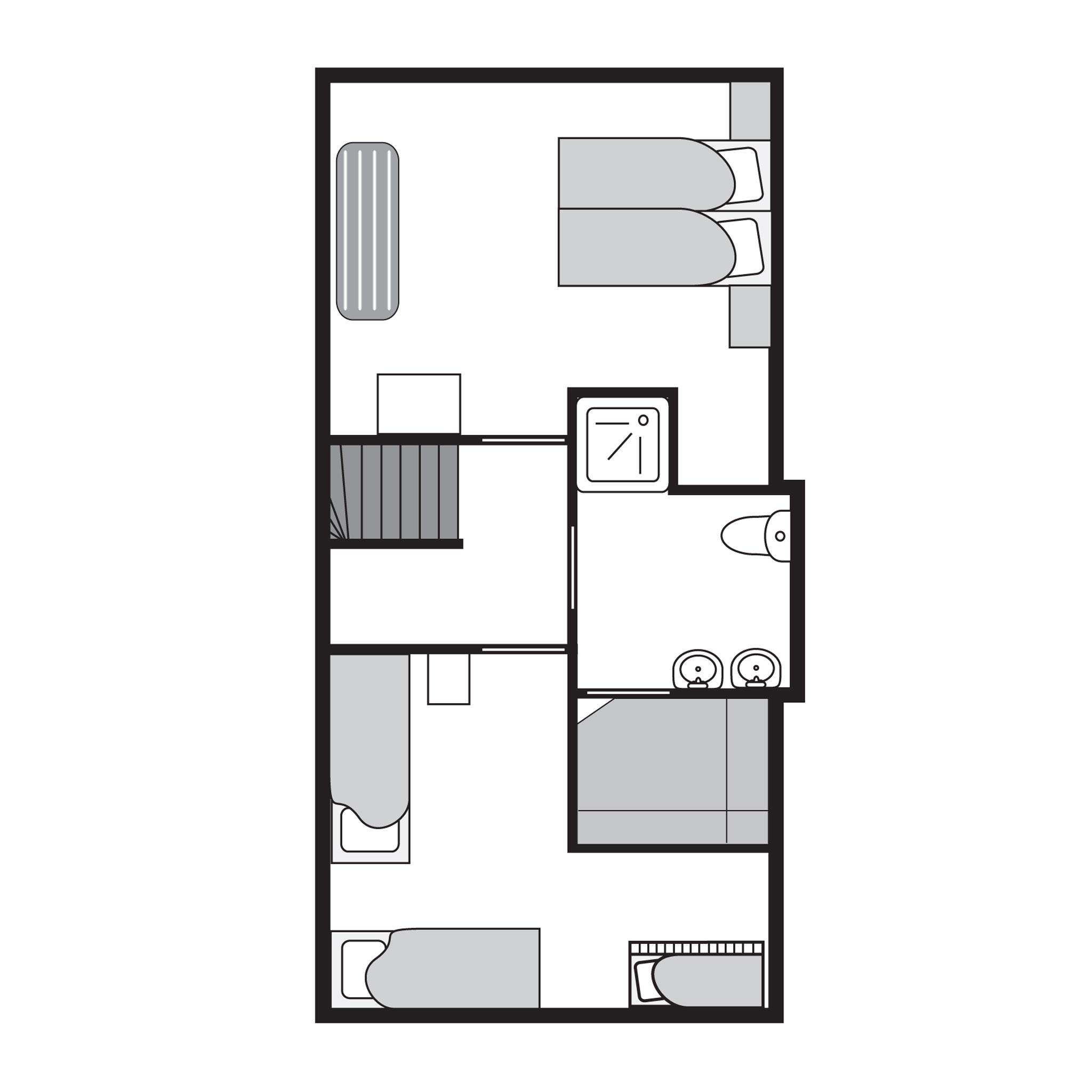 Ferienwohnung Luxus 6-Personen-Ferienhaus im Ferienpark Landal Coldenhove - im Wald/waldreicher Umgebung (354875), Eerbeek, Veluwe, Gelderland, Niederlande, Bild 19