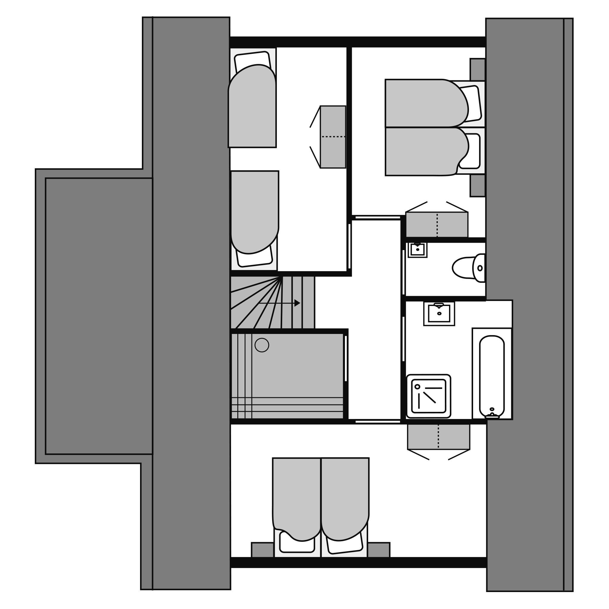 Ferienhaus Luxus 8-Personen-Ferienhaus im Ferienpark Landal De Vers - In waldreicher Umgebung (2669913), Overloon, , Nordbrabant, Niederlande, Bild 28