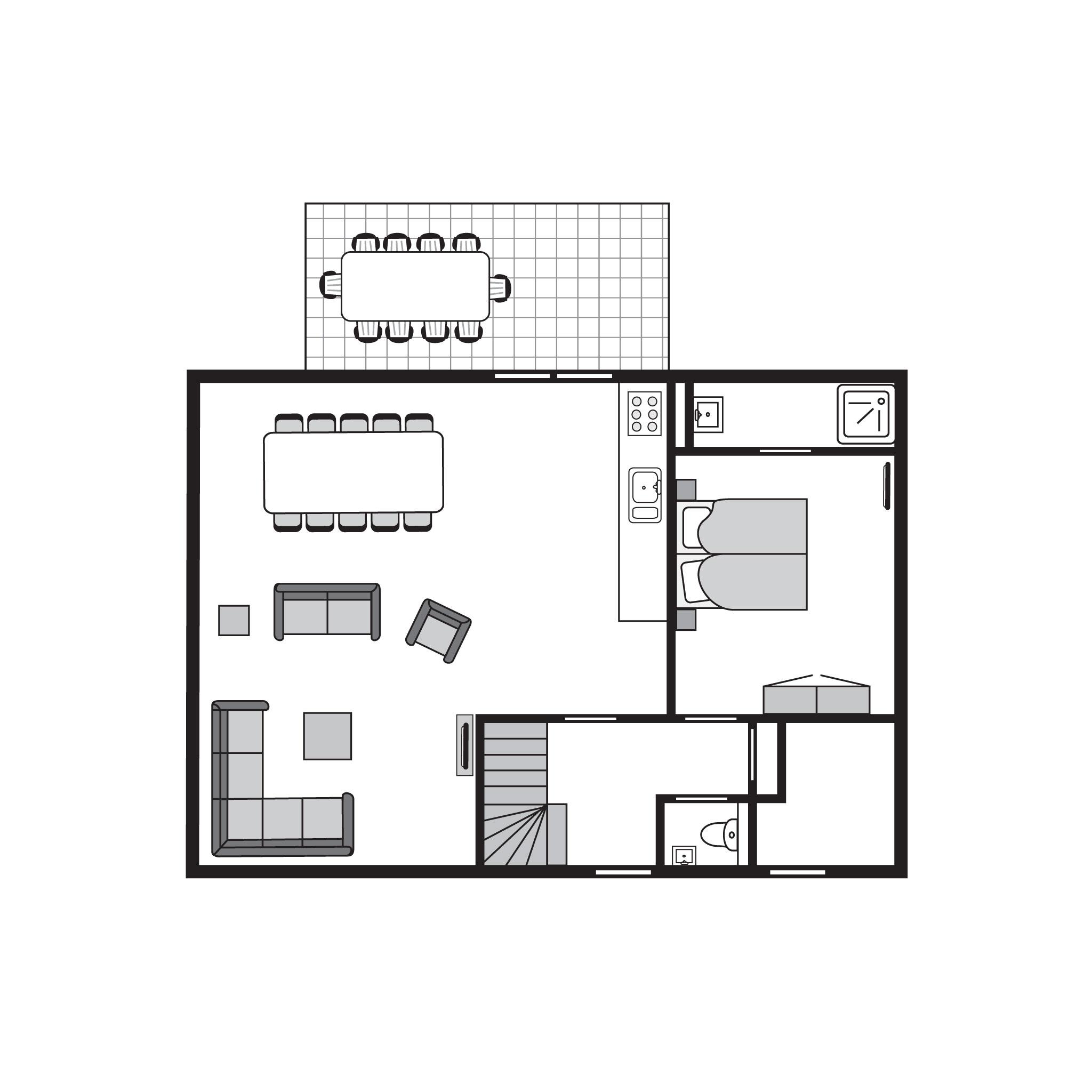 Ferienhaus Komfort 10-Personen-Unterkunft im Ferienpark Landal Strand Resort Nieuwvliet-Bad - an der  (589559), Nieuwvliet, , Seeland, Niederlande, Bild 27