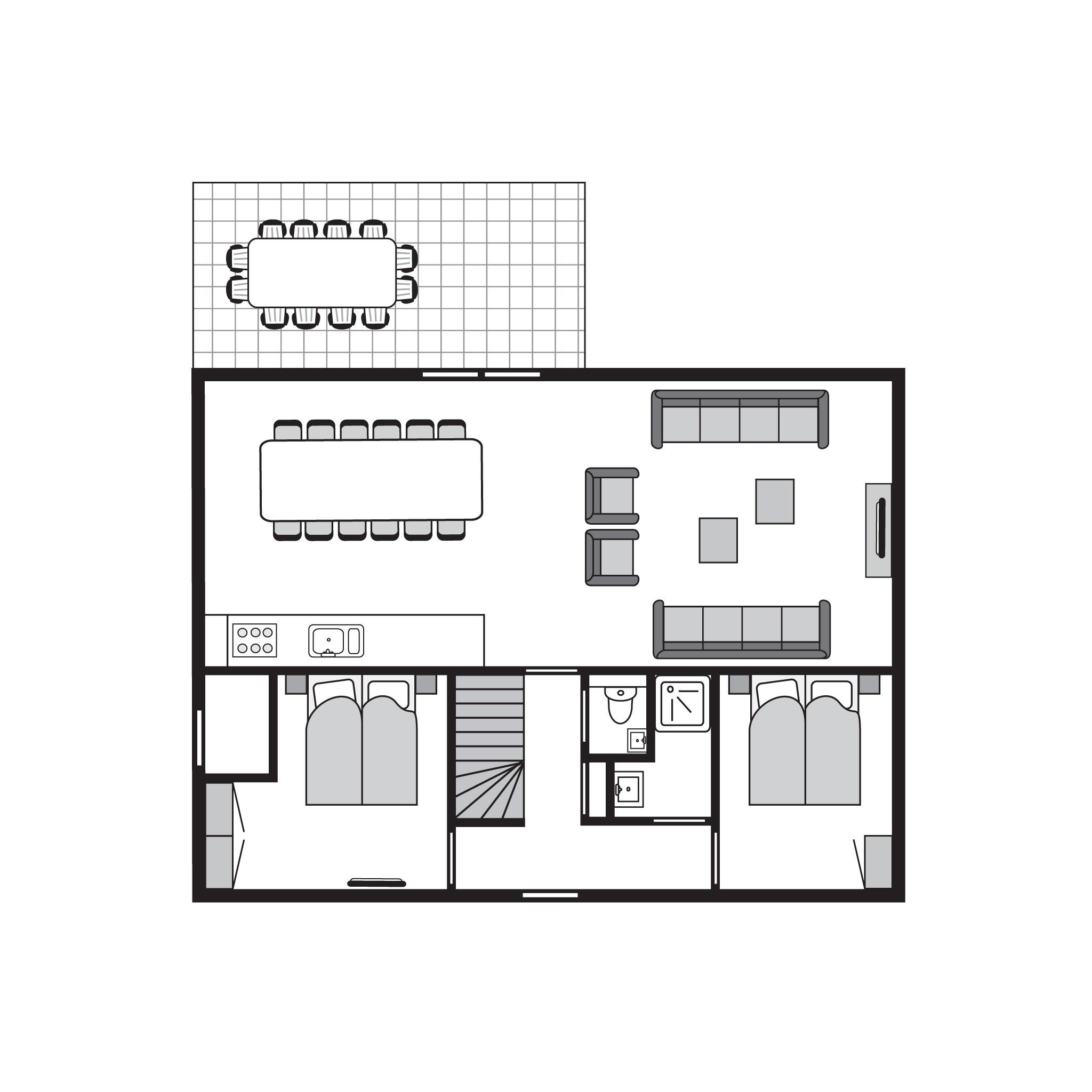 Ferienhaus Komfort 12-Personen-Bauernhaus im Ferienpark Landal Strand Resort Nieuwvliet-Bad - an der  (589560), Nieuwvliet, , Seeland, Niederlande, Bild 30
