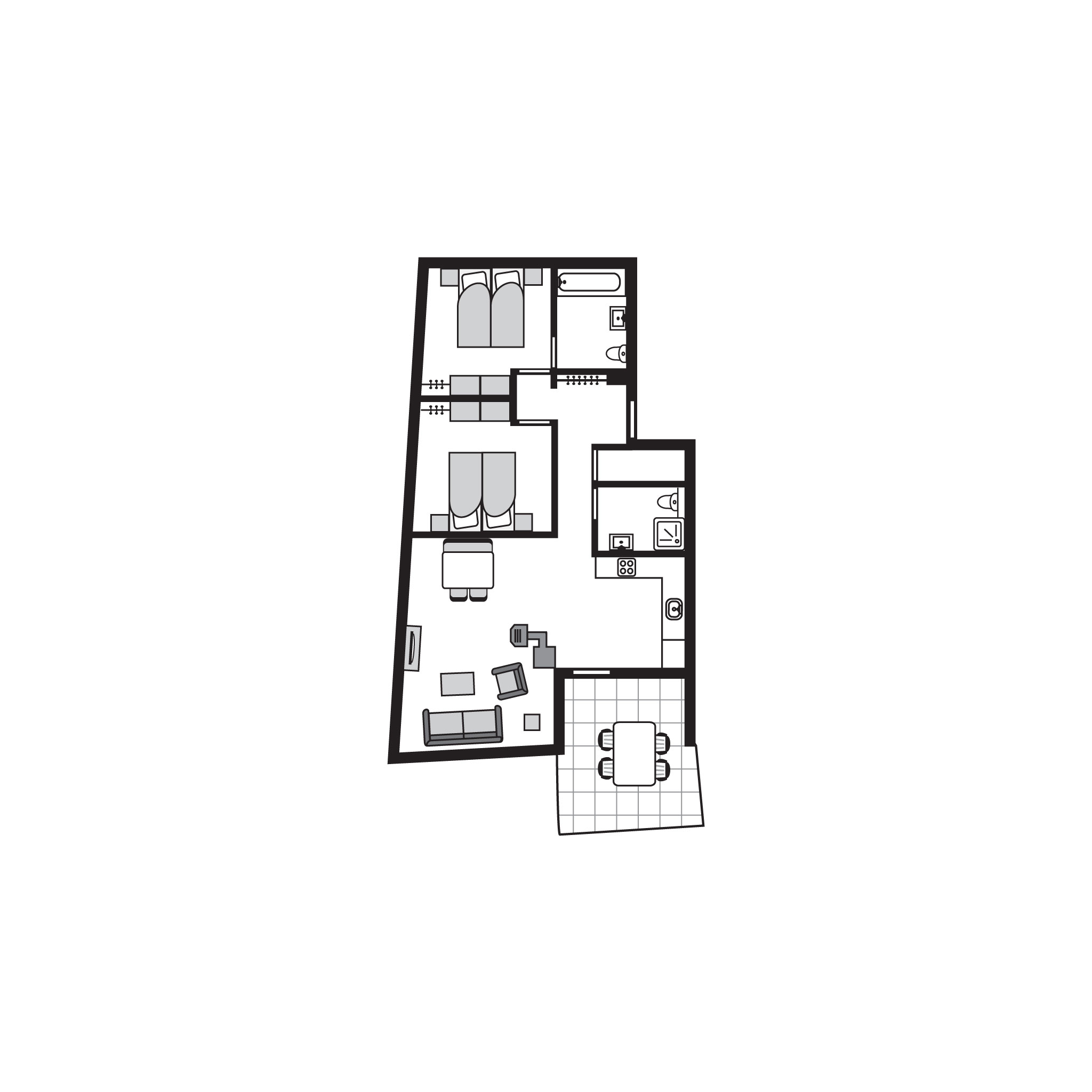 Appartement de vacances Komfort 4-Personen-Ferienwohnung im Ferienpark Landal Alpine Lodge Lenzerheide - in den Be (828234), Lenzerheide/Lai, Lenzerheide - Valbella, Grisons, Suisse, image 40