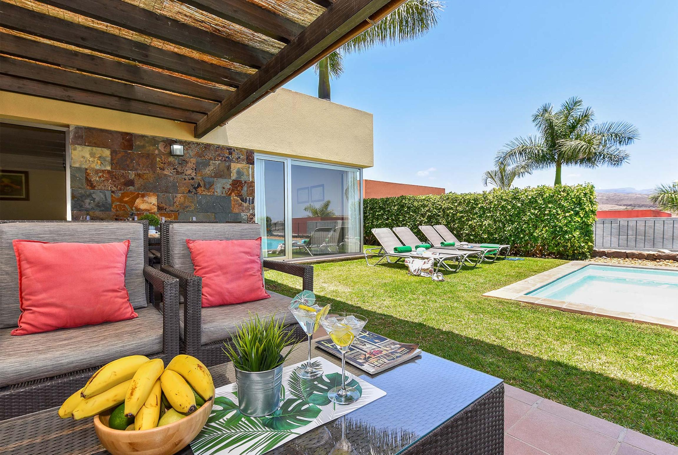 Holiday house Par 4 Villa 18 (2654013), Maspalomas, Gran Canaria, Canary Islands, Spain, picture 10